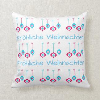 Christmas Ornaments Fröhliche Weihnachten Cushion