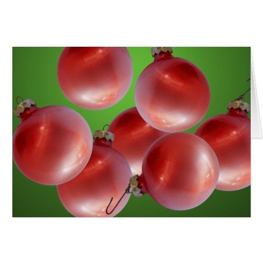 Christmas Ornaments/ Holiday Card