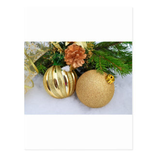 Christmas Ornaments Holiday Tree Destiny Gifts Postcard
