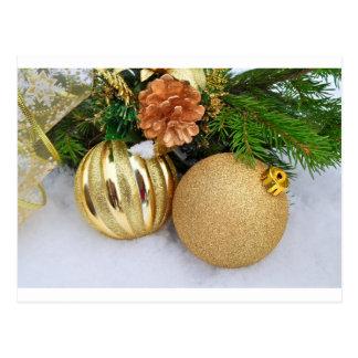 Christmas Ornaments Holiday Tree Destiny Gifts Postcard