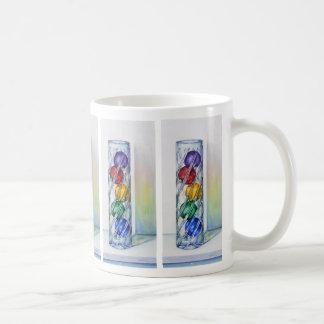 Christmas Ornaments in Vase Mug