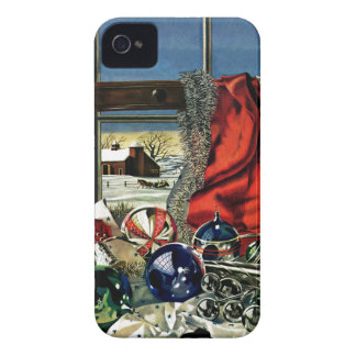 Christmas Ornaments iPhone 4 Case-Mate Case