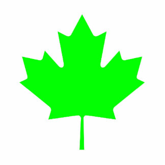 Christmas Ornaments Maple Leaf Green Light Photo Sculpture Decoration