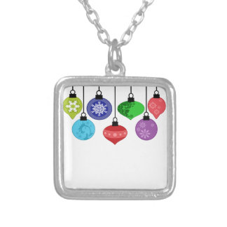 Christmas Ornaments Necklace
