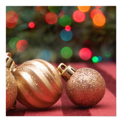 Christmas Ornaments Photo Print
