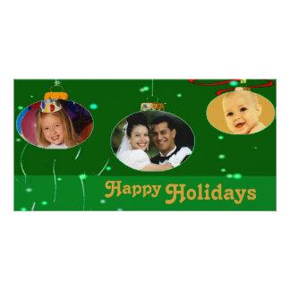 Christmas Ornaments Photo Frames Photo Greeting Card