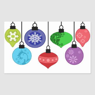 Christmas Ornaments Sticker