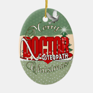 CHRISTMAS OSTEOPATH DOCTOR CHRISTMAS ORNAMENT