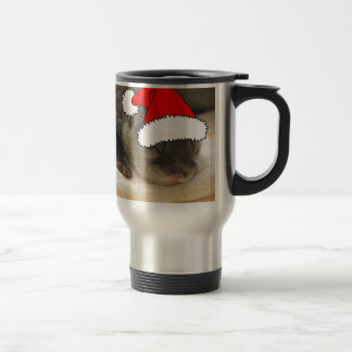 Christmas Otter Stainless Steel Travel Mug