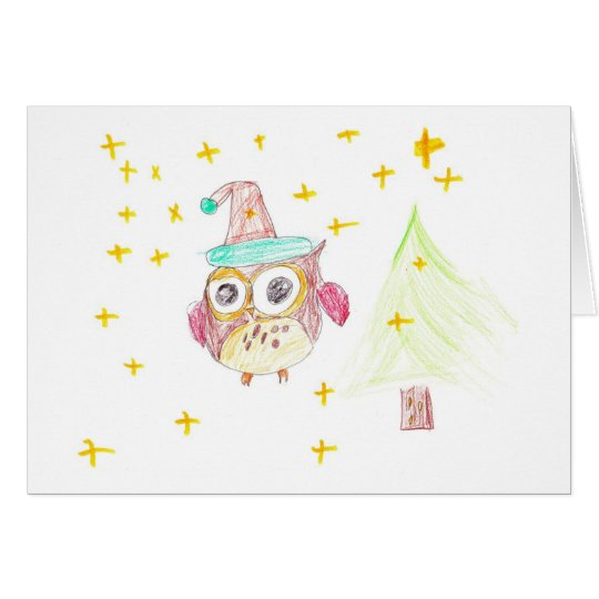 Christmas Owl - By Thibault Card