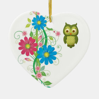 Christmas Owl Christmas Ornament