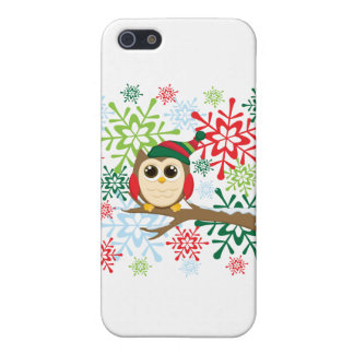 Christmas owl cover for iPhone 5/5S