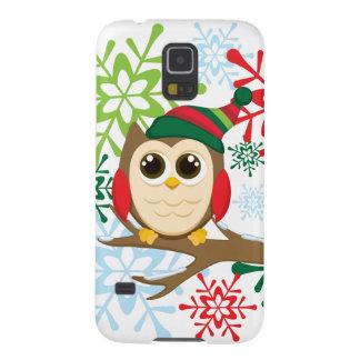 Christmas owl galaxy s5 case