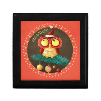 Christmas Owl Gift Box