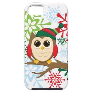 Christmas owl iPhone 5 cover