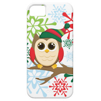 Christmas owl iPhone 5 covers