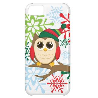 Christmas owl iPhone 5C case