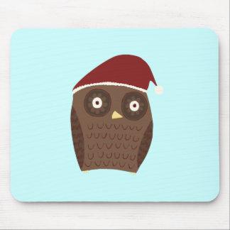 Christmas Owl Mousepads
