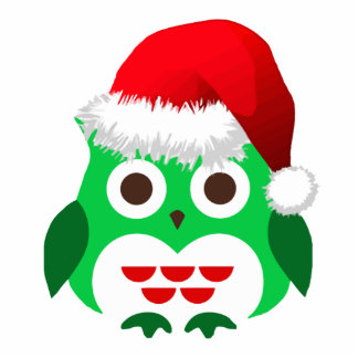 Christmas owl Photo Sculpture Cutouts
