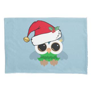 Christmas Owl Pillowcase