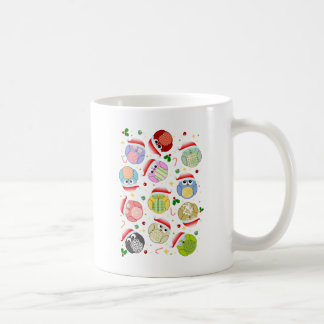 Christmas Owls Design Coffee Mug