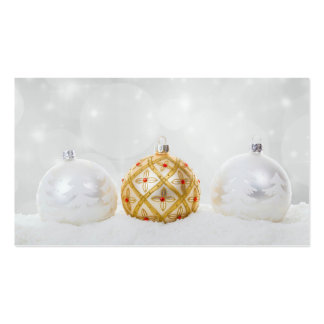 Christmas Pack Of Standard Business Cards