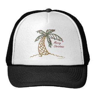 Christmas Palm Trucker Hats
