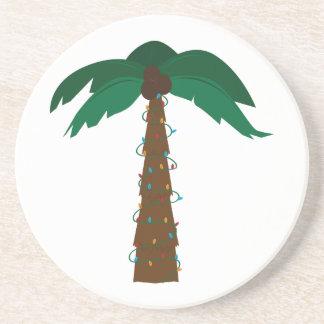 Christmas Palm Drink Coasters