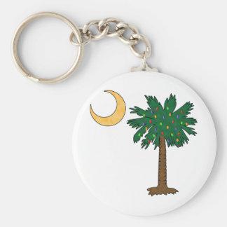 Christmas Palmetto Key Ring