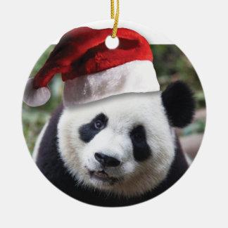 Christmas Panda Bear Christmas Ornament