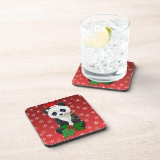 Christmas Panda Coaster