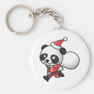 Christmas Panda Keychain