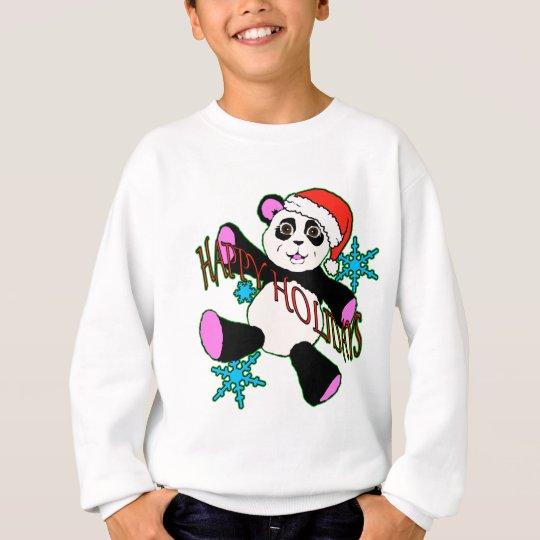 Christmas panda sweatshirt