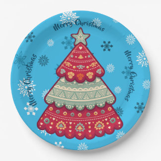 Christmas Paper Plate