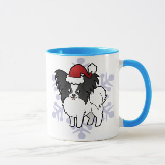 Christmas Papillon Mug