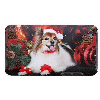 Christmas - Papillon - Sylvie Barely There iPod Case