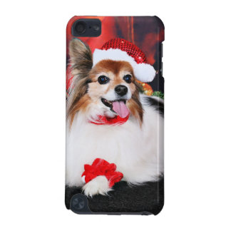 Christmas - Papillon - Sylvie iPod Touch (5th Generation) Case