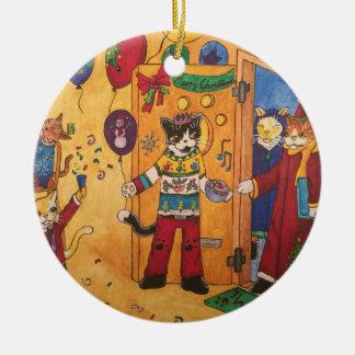 Christmas Party Christmas Ornament