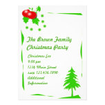 CHRISTMAS PARTY CUSTOM INVITATIONS