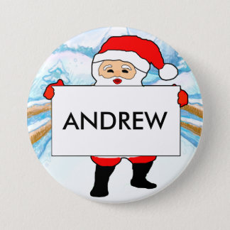 Christmas Party Customizable Name Badges