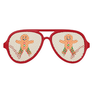 Christmas Party Gingerbread man Party Shades
