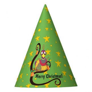 "Christmas Party Hat ""Partridge in a Pear Tree"""