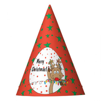 "Christmas Party Hat ""Rudolph"""