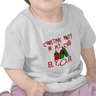 CHRISTMAS PARTY IN MY CRIB!  BYOB T-SHIRTS