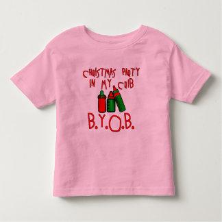 CHRISTMAS PARTY IN MY CRIB!  BYOB TSHIRT