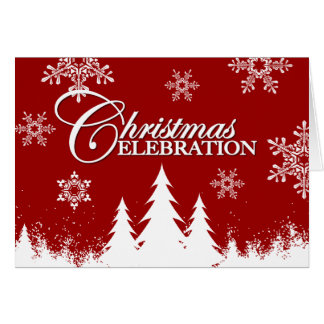 Christmas Party Invitations Cards