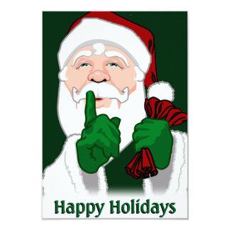 Christmas Party Invitations Custom Santa Cards