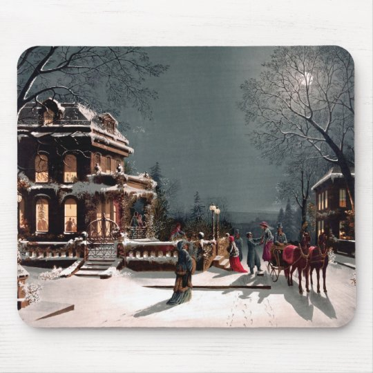 Christmas Party Mousepad