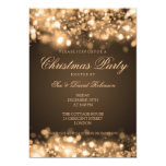 Christmas Party Sparkling Lights Gold