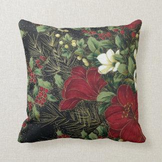 "Christmas Pattern Polyester Throw Pillow 16"" x 16"" Cushion"
